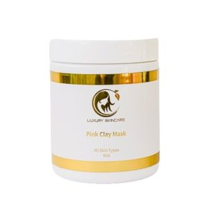Luxury Skincare Pink Clay Mask - 90g